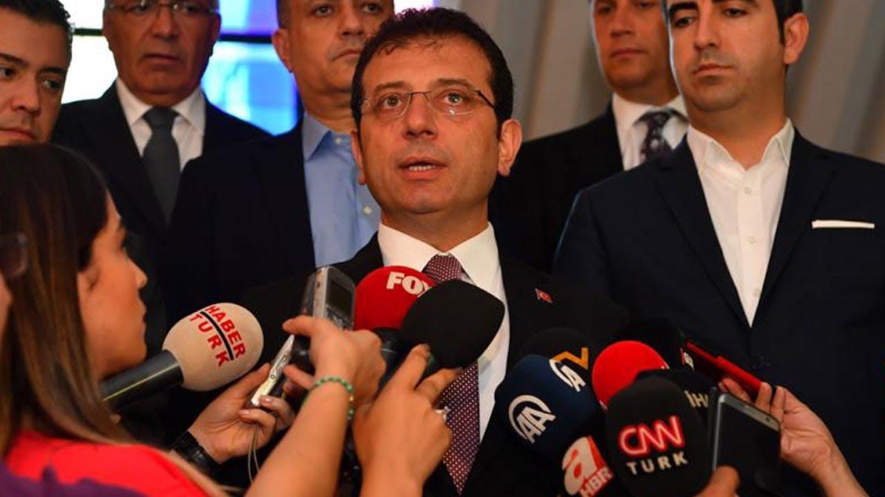 İBB Başkanı Ekrem İmamoğlu'dan açıklamalar