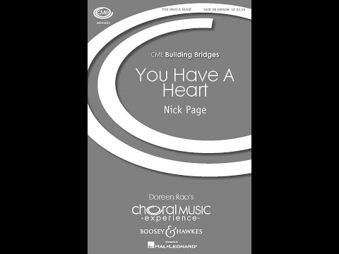 You Have A Heart - By Nick Page