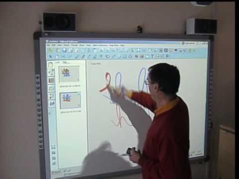 IQBoard Interactive Whiteboard Writing.wmv