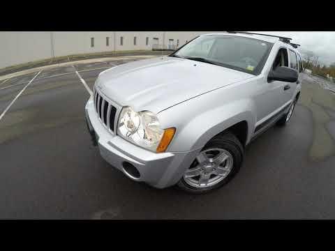 4K Review 2005 Jeep Grand Cherokee Laredo Virtual Test-Drive & Walk-around