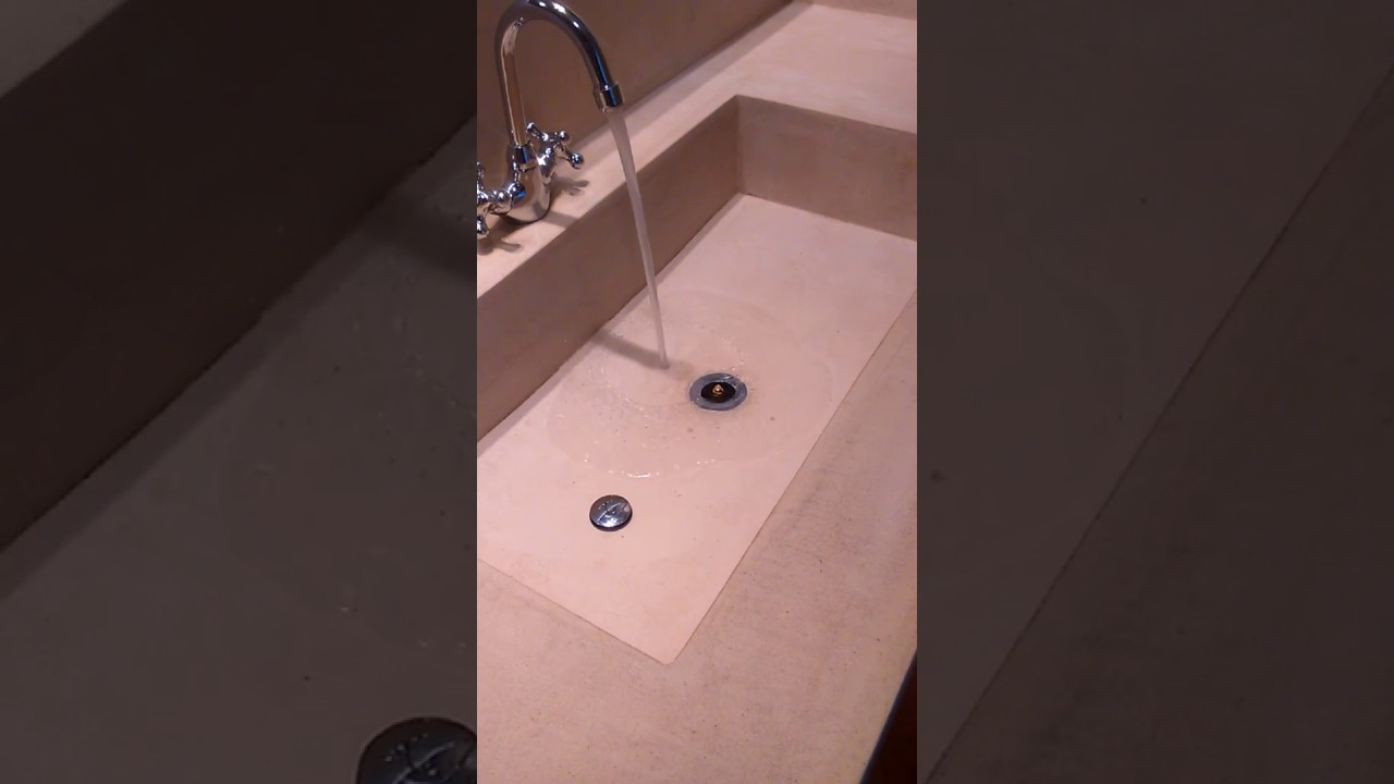 Lavabo de microcemento decal youtube - Lavabo microcemento ...
