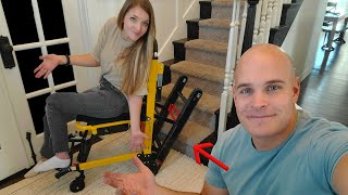 Can this 'wheelchair' Really Climb STAIRS?! - Mobile Stairlift