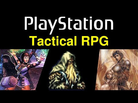 6 More Awesome PS1 Tactical RPG Games 😍 Video 2 ... (Gameplay)