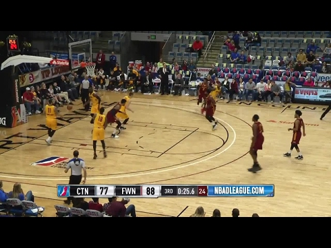 Highlights: John Holland (22 points)  vs. the Mad Ants, 2/14/2017
