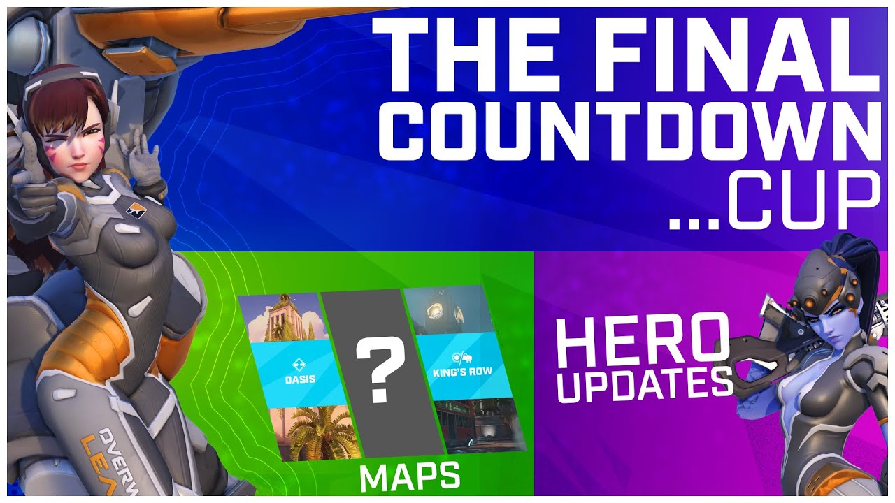 Patch Notes, Hero Pools & More! — Everything You Need to Know for the Countdown Cup