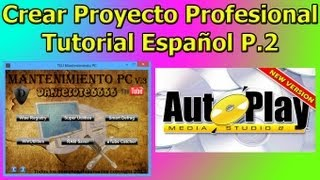Crear Proyecto Profesional en Autoplay Media Studio. 2/2