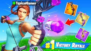 BOW ONLY Challenge in Fortnite! (Impossible)