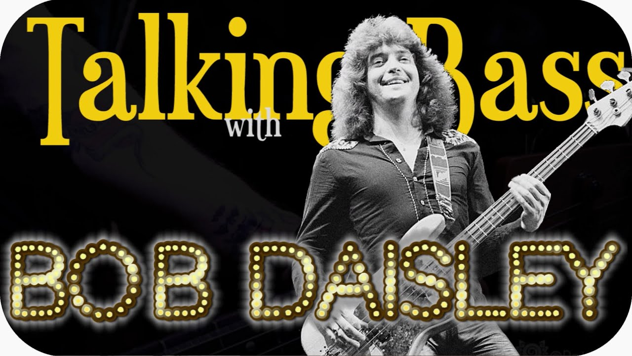 Talking bass with Bob Daisley - Interview 2021
