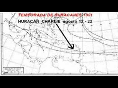 Huracanes en Yucatán (Cd. de Mérida)