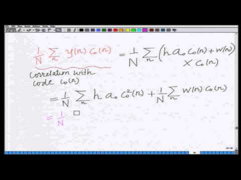 Lecture 30: BER of CDMA Systems