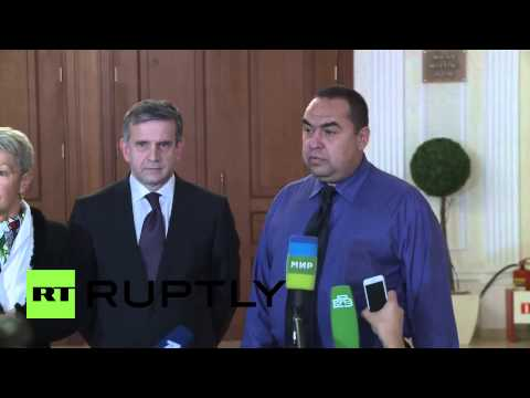 "Belarus: ""Ukraine ceasefire deal agreed at Minsk talks"" Zakharchenko confirms"