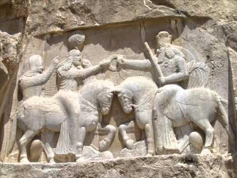 The Royal Rock Tombs at Naqsh-e Rostam, Iran