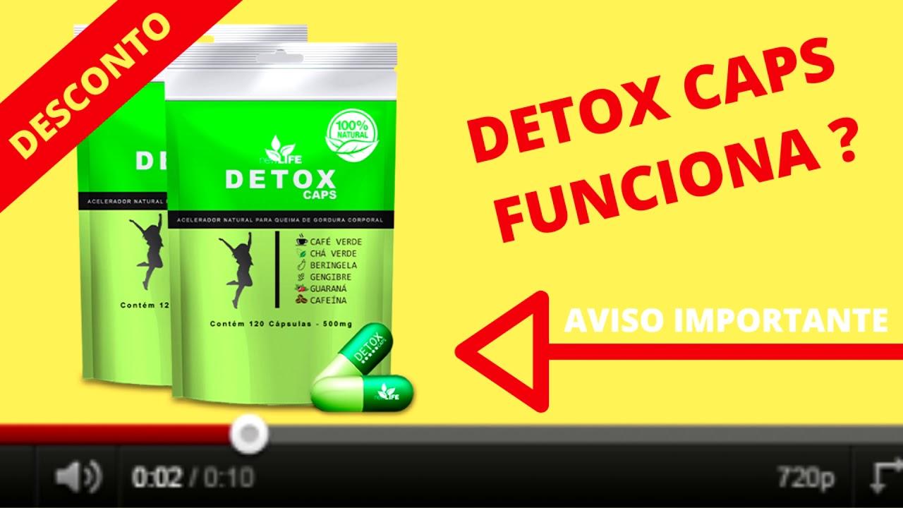 detox caps efeitos colaterais