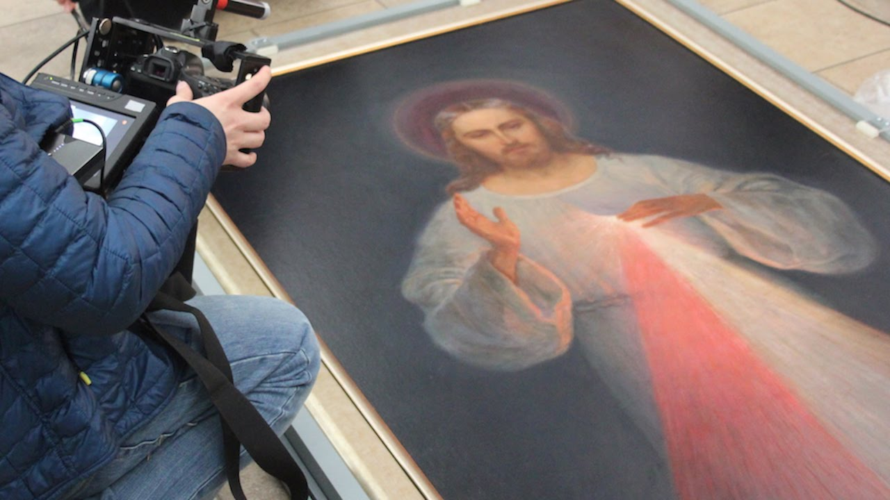 Image result for divine mercy painting