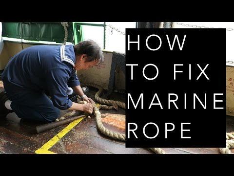 How to Fix Marine Rope (Star Ferry)