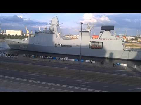 Duńska Fregata Rakietowa W Szczecinie