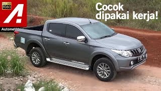 Mitsubishi Strada Triton Exceed 4x4 Review & Test Drive by AutonetMagz