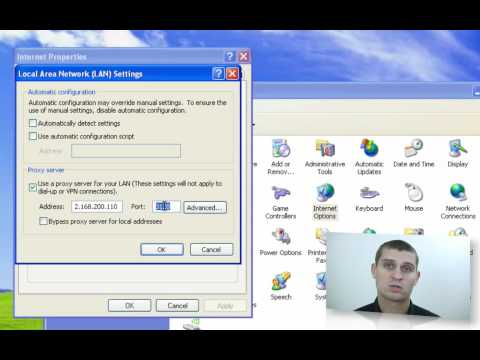 Find Your Proxy Server Settings On A Windows PC - YouTube