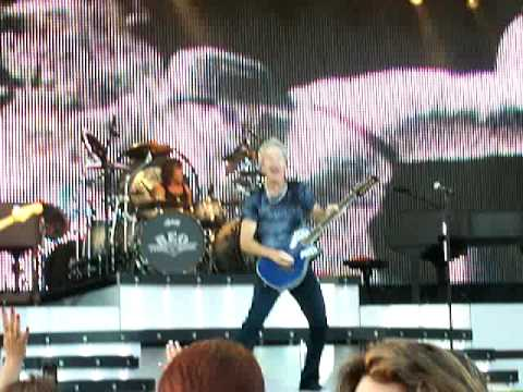 "REO Speedwagon ""Time For Me To Fly"" Wheeling Island Stadium July 5, 2009"