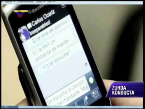ZKVTV muestra mensajes que enviaban Julio Borges y María Corina Machado