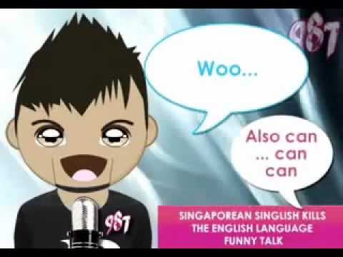 Malaysian  Singaporean  English Funny Accent