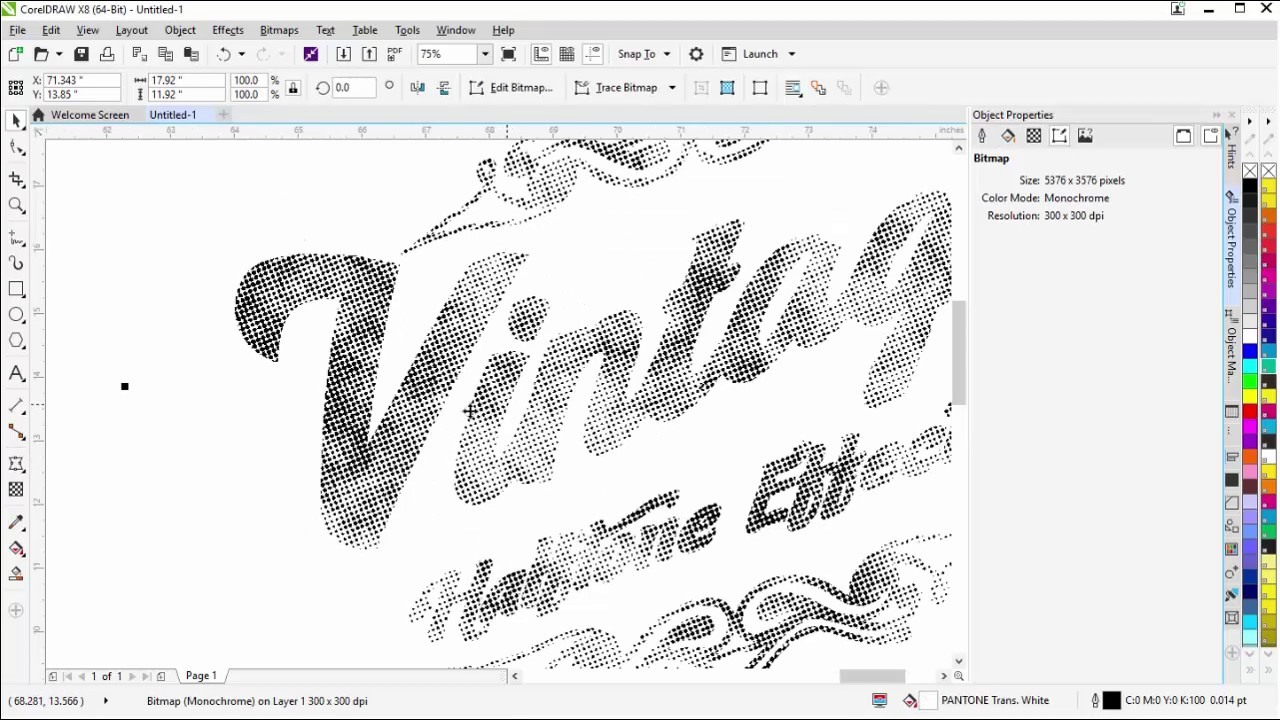 T-Shirt Design Tutorial Easy Vintage Halftone Effects in