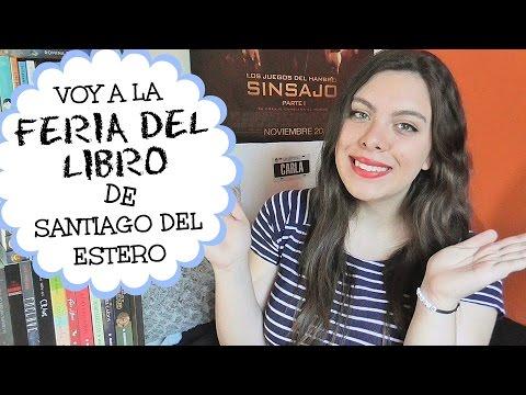 ¡Voy a la feria del libro de Santiago del Estero! 28 y 29 de Nov | Mi mundo está en tus páginas