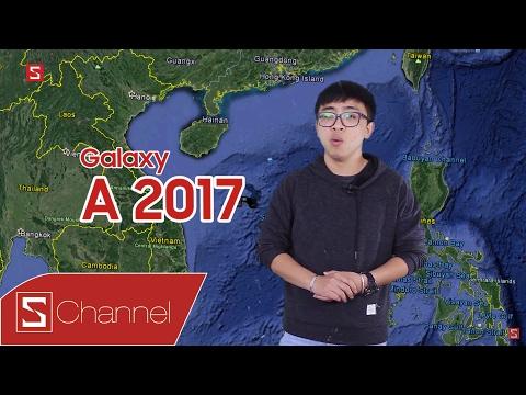 """Schannel - Mở hộp Galaxy A5 2017 theo phong cách """"DỰ BÁO THỜI TIẾT"""""""