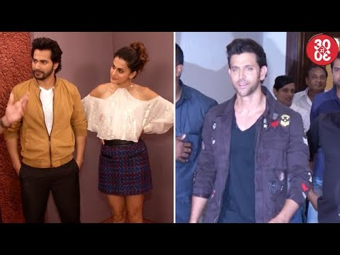 Taapsee Clears The Air About Varun | Hrithik Opts Out Of 'Super 30' On Daddys Behest