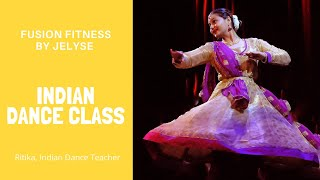 Learn Indian Dance:  Culture & Cardio
