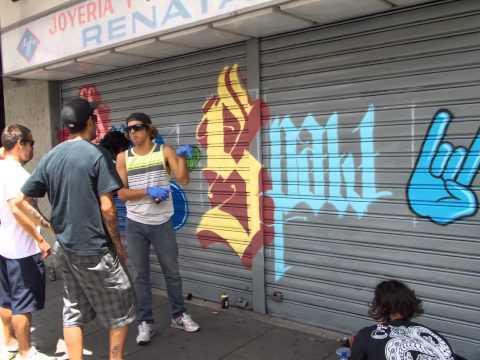 Street Art - Grafiteros Chacao Venezuela