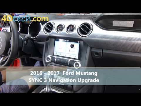 Add Factory Navigation to SYNC 3 | 2016 - 2017 Ford Mustang