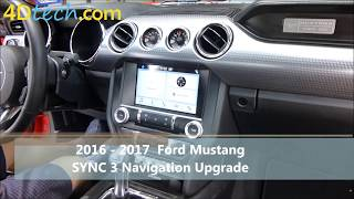 Add Factory Navigation to SYNC 3 | 2016+ Ford Mustang