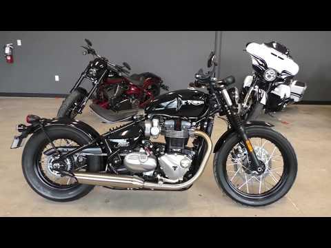 833946 2018 Triumph Bonneville Bobber 1200cc - Used ...