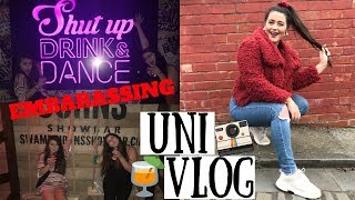 UNI VLOG | Fun Blogger Day, Boohoo Meal Deals & Spontaneous Night Out *EMBARRASSING*