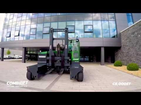C8000ET: multi directional forklift for safe, space saving and productive handling of long loads