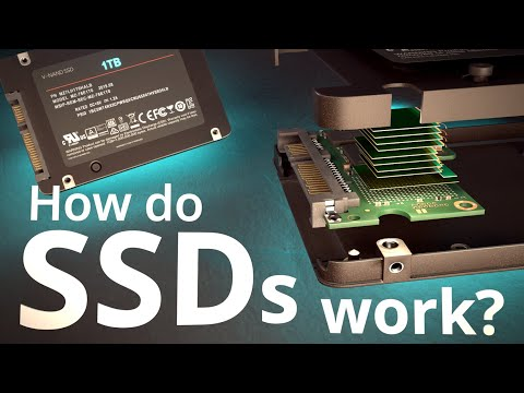 How do SSDs Work? | How does your Smartphone store data? |  Insanely Complex Nanoscopic Structures!