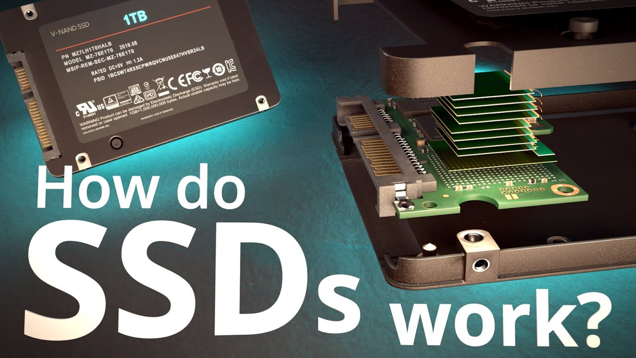 How do SSDs Work?   How does your Smartphone store data?    Insanely Complex Nanoscopic Structures!