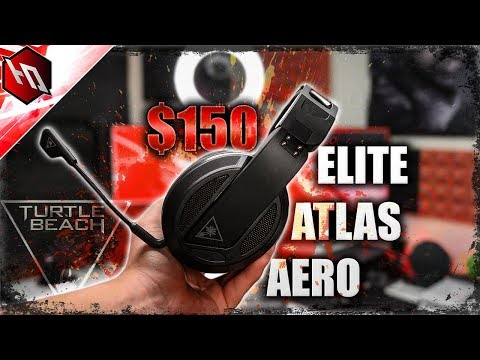 BEST WIRELESS GAMING HEADSET FOR PC GAMING?!?! (Turtle Beach ELITE ATLAS AERO Review)