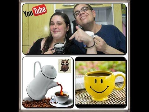 ☕☕Café de Lanchonete e Rodoviária como Fazer esse Famoso Café no Bule com Déby & Ian☕☕