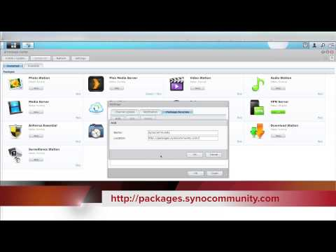 How to Add 3rd Party Packages to Your Synology Nas - YouTube