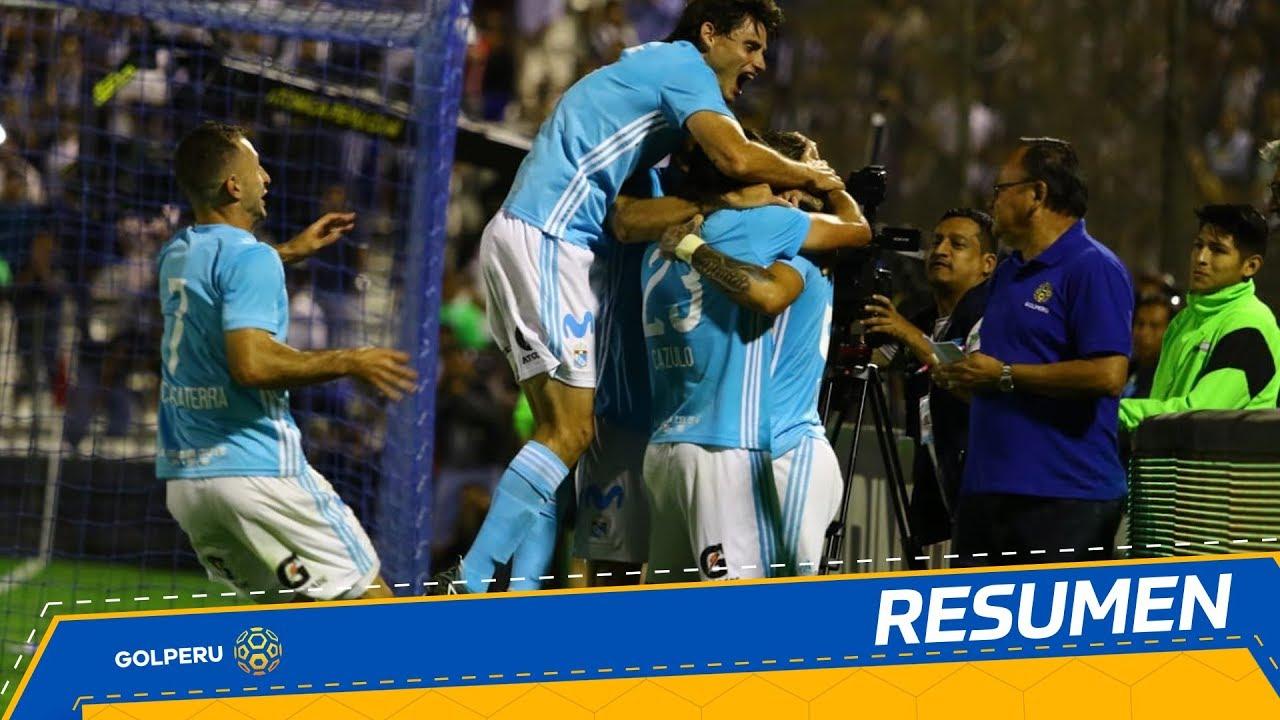 Resumen: Alianza Lima vs. Sporting Cristal (1-4)
