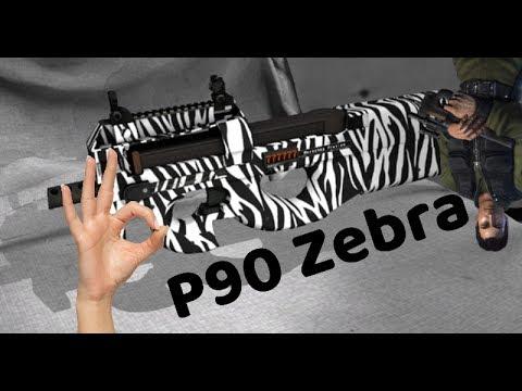 P90 ZeBrA The Most Powerful Gun On Critical-Ops