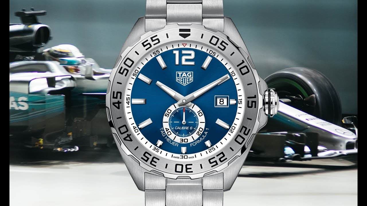 Review Tag Heuer Formula 1 Calibre 6 Automatic