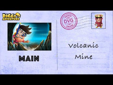 [~Atlantis Main Map~] #8 Volcanic Mine - Diggy's Adventure