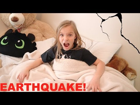 EARTHQUAKE Wakes Kids Up at 5am!
