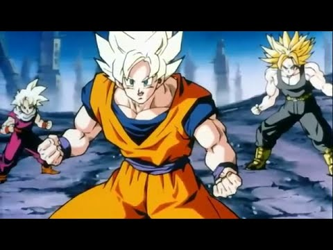 AMV DBZ  |||  Goku VS Broly  |||  In The End