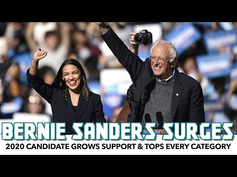 Bernie Sanders Surges In Polls. Tops Every Policy Category.