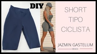 363673510 Cómo Hacer Short Tipo Ciclista    How To Make Bike Shorts