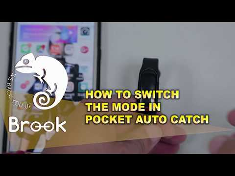 HOW TO SWITCH THE MODE IN POCKET AUTO CATCH